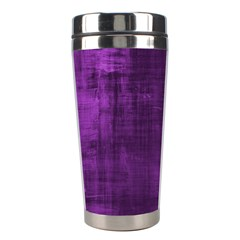 Background Wallpaper Paint Lines Stainless Steel Travel Tumblers by Amaryn4rt