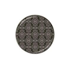 Line Geometry Pattern Geometric Hat Clip Ball Marker by Amaryn4rt