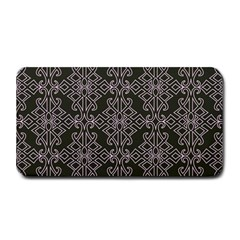 Line Geometry Pattern Geometric Medium Bar Mats by Amaryn4rt