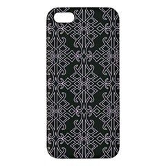 Line Geometry Pattern Geometric Iphone 5s/ Se Premium Hardshell Case by Amaryn4rt