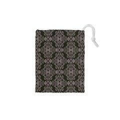 Line Geometry Pattern Geometric Drawstring Pouches (xs)  by Amaryn4rt