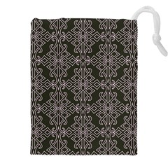 Line Geometry Pattern Geometric Drawstring Pouches (xxl) by Amaryn4rt