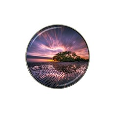 Landscape Reflection Waves Ripples Hat Clip Ball Marker (10 Pack) by Amaryn4rt