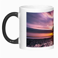 Landscape Reflection Waves Ripples Morph Mugs by Amaryn4rt