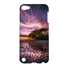 Landscape Reflection Waves Ripples Apple Ipod Touch 5 Hardshell Case by Amaryn4rt
