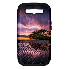 Landscape Reflection Waves Ripples Samsung Galaxy S Iii Hardshell Case (pc+silicone) by Amaryn4rt