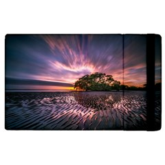 Landscape Reflection Waves Ripples Apple Ipad 3/4 Flip Case by Amaryn4rt