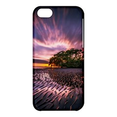 Landscape Reflection Waves Ripples Apple Iphone 5c Hardshell Case by Amaryn4rt