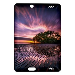 Landscape Reflection Waves Ripples Amazon Kindle Fire Hd (2013) Hardshell Case by Amaryn4rt