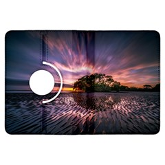 Landscape Reflection Waves Ripples Kindle Fire Hdx Flip 360 Case by Amaryn4rt