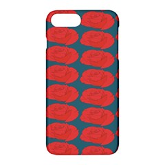 Rose Repeat Red Blue Beauty Sweet Apple Iphone 7 Plus Hardshell Case by Alisyart