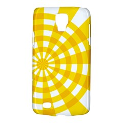 Weaving Hole Yellow Circle Galaxy S4 Active by Alisyart