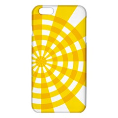 Weaving Hole Yellow Circle Iphone 6 Plus/6s Plus Tpu Case by Alisyart
