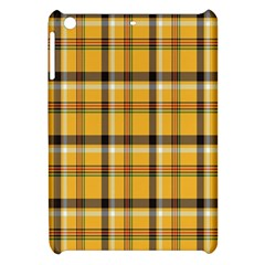 Plaid Yellow Line Apple Ipad Mini Hardshell Case by Alisyart