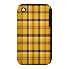 Plaid Yellow Line Iphone 3s/3gs by Alisyart