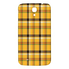 Plaid Yellow Line Samsung Galaxy Mega I9200 Hardshell Back Case by Alisyart