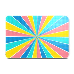 Rhythm Heaven Megamix Circle Star Rainbow Color Small Doormat  by Alisyart