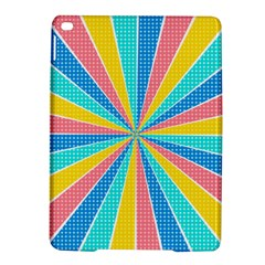 Rhythm Heaven Megamix Circle Star Rainbow Color Ipad Air 2 Hardshell Cases by Alisyart