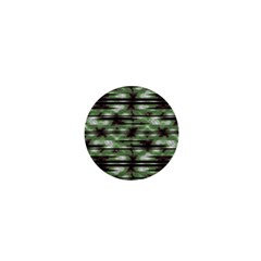 Stripes Camo Pattern Print 1  Mini Buttons by dflcprints