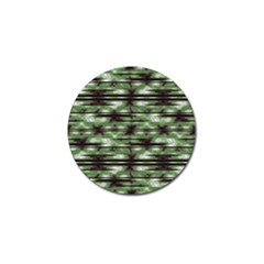 Stripes Camo Pattern Print Golf Ball Marker (4 Pack) by dflcprints