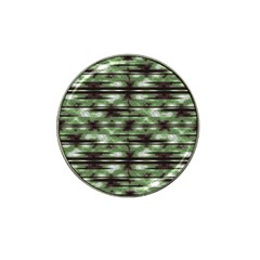 Stripes Camo Pattern Print Hat Clip Ball Marker (4 Pack) by dflcprints