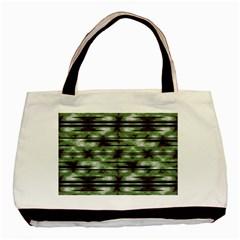 Stripes Camo Pattern Print Basic Tote Bag (two Sides) by dflcprints