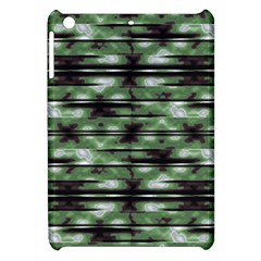 Stripes Camo Pattern Print Apple Ipad Mini Hardshell Case