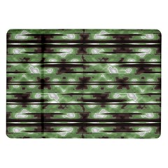 Stripes Camo Pattern Print Samsung Galaxy Tab 10 1  P7500 Flip Case by dflcprints