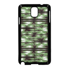 Stripes Camo Pattern Print Samsung Galaxy Note 3 Neo Hardshell Case (black) by dflcprints