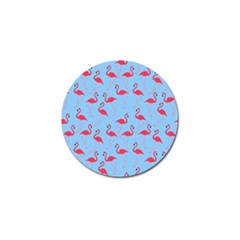 Flamingo Pattern Golf Ball Marker (4 Pack) by Valentinaart
