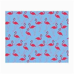 Flamingo Pattern Small Glasses Cloth (2 Side) by Valentinaart