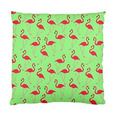 Flamingo Pattern Standard Cushion Case (one Side) by Valentinaart