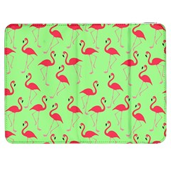 Flamingo Pattern Samsung Galaxy Tab 7  P1000 Flip Case by Valentinaart