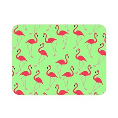 Flamingo Pattern Double Sided Flano Blanket (mini)  by Valentinaart