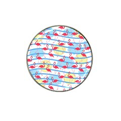 Flamingo Pattern Hat Clip Ball Marker by Valentinaart