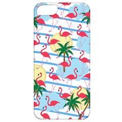 Flamingo Pattern Apple Iphone 5 Classic Hardshell Case by Valentinaart