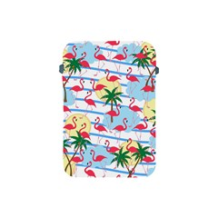 Flamingo Pattern Apple Ipad Mini Protective Soft Cases by Valentinaart