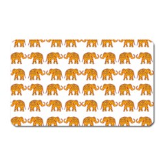 Indian Elephant  Magnet (rectangular) by Valentinaart