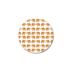 Indian Elephant  Golf Ball Marker (4 Pack) by Valentinaart