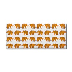Indian Elephant  Cosmetic Storage Cases by Valentinaart