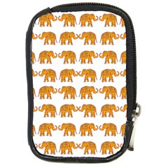 Indian Elephant  Compact Camera Cases by Valentinaart