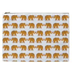 Indian Elephant  Cosmetic Bag (xxl)  by Valentinaart