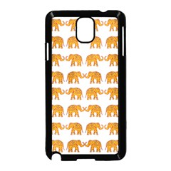 Indian Elephant  Samsung Galaxy Note 3 Neo Hardshell Case (black) by Valentinaart