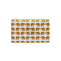 Indian Elephant  Cosmetic Bag (xs) by Valentinaart