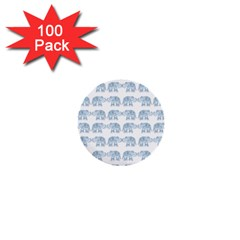 Indian Elephant  1  Mini Buttons (100 Pack)  by Valentinaart
