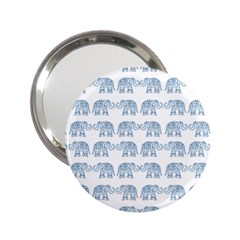 Indian Elephant  2 25  Handbag Mirrors by Valentinaart