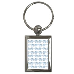 Indian Elephant  Key Chains (rectangle)  by Valentinaart