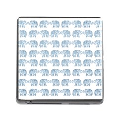 Indian Elephant  Memory Card Reader (square) by Valentinaart