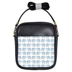 Indian Elephant  Girls Sling Bags by Valentinaart
