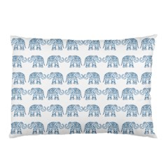 Indian Elephant  Pillow Case (two Sides) by Valentinaart